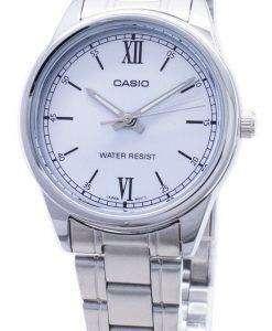 카시오 타임 피스 LTP-V005D-2B3 LTPV005D 쿼 츠 아날로그 여성용 손목시계