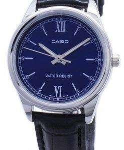 카시오 타임 피스 LTP-V005L LTPV005L-2B 아날로그 여성용 손목시계
