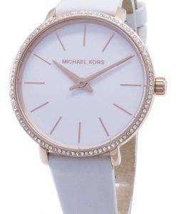Michael Kors 미니 파이퍼 MK2802 다이아몬드 악센트 아날로그 시계