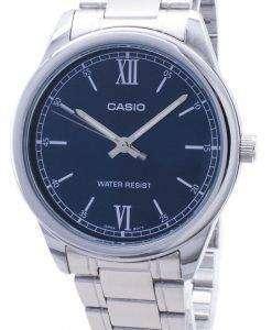 카시오 타임 피스 MTP-V005D-2B1 MTPV005D 쿼 츠 아날로그 남성용 손목시계
