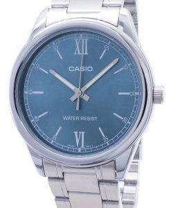 카시오 타임 피스 MTP-V005D-3B MTPV005D 쿼 츠 아날로그 남성용 손목시계