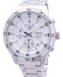 Seiko 크로 노 그래프 SKS637 SKS637P1 SKS637P 쿼 츠 아날로그 남성용 손목시계