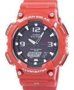 카시오 아날로그 디지털 힘든 태양 AQ-S810WC-4AVDF AQ-S810WC-4AV 남자의 시계