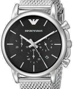 엠포리오 아르마니 클래식 크로 노 그래프 석 영 AR1811 남자의 시계