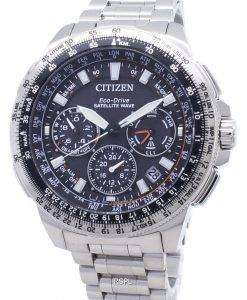시민 프로 마스터 CC9020-54E 에코 드라이브 위성 웨이브 200M 남자 시계