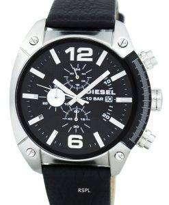 디젤 오버플로 쿼 츠 크로 노 그래프 DZ4341 남자 시계
