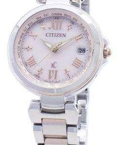 시민 xC 에코 드라이브 EC1034-59W 전파 시계 여성 시계