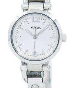 화석 조지아 미니 3 핸드 보석 걸쇠 ES3269 여성 시계