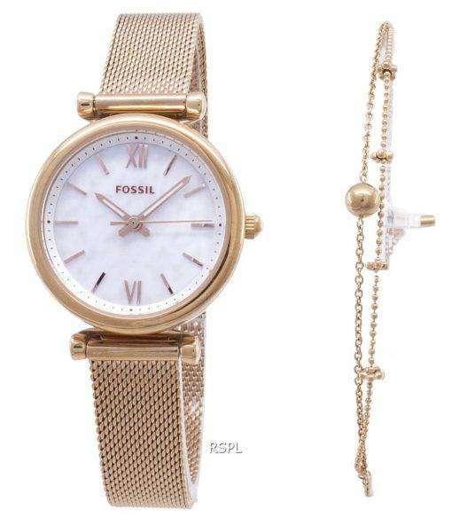 화석 Carlette Quartz ES4443SET 여성 시계