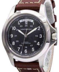 해밀턴 카 키 킹 자동 H64455533 남자 시계