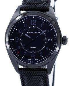 해밀턴 카 키 필드 석 영 스위스 만든 H68401735 남자의 시계