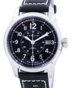 해밀턴 카 키 필드 자동 H70595733 남성용 시계