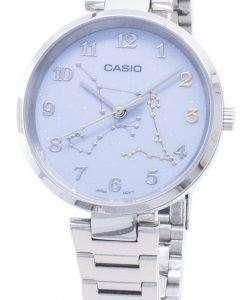 카시오 쿼츠 LTP - E05D - 2A LTP E05D - 2A 아날로그 여성 손목 시계