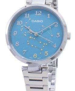 카시오 쿼츠 LTP - E07D - 3A 아날로그 여성용 시계 LTPE07D - 3A