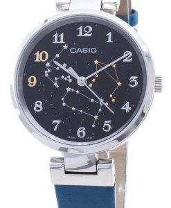카시오 쿼츠 LTP - E09L - 3A 아날로그 여성용 시계 LTPE09L - 3A