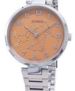 카시오 쿼츠 LTP - E10D - 4A 아날로그 여성용 시계 LTPE10D - 4A