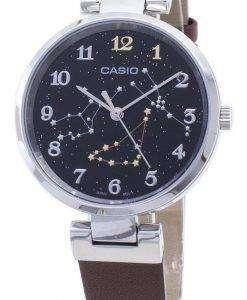 카시오 쿼츠 LTP - E12L - 5A2 LTPE12L - 5A2 아날로그 여성 손목 시계