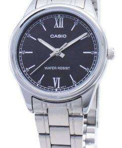 카시오 LTP - V005D - 1B2 아날로그 여성 손목 시계 LTPV005D - 1B2
