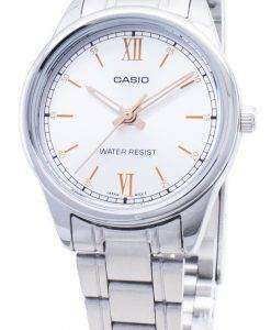 카시오 쿼츠 LTP - V005D - 7B2 LTPV005D - 7B2 아날로그 여성 손목 시계