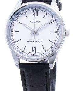 카시오 쿼츠 LTP - V005L - 7B2 LTPV005L - 7B2 아날로그 여성 손목 시계