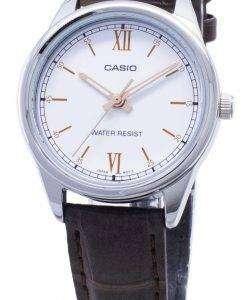 카시오 쿼츠 LTP - V005L - 7B3 LTPV005L - 7B3 아날로그 여성 손목 시계