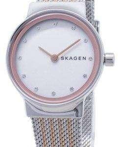 스 카 겐 프레 석 영 다이아몬드 악센트 SKW2699 여자 시계