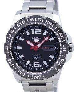 세이 코 5 스포츠 일본 GMT 자동 SRP685 SRP685J1 SRP685J 남자의 시계를 만든