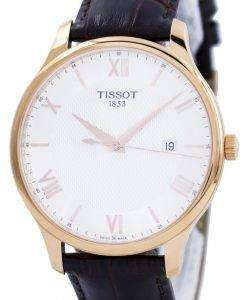 Tissot T-클래식 전통 석 영 T063.610.36.038.00 T0636103603800 남자 시계