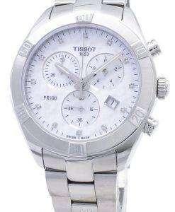 Tissot T - Classic PR 100 스포츠 세련된 T101.917.11.116.00 T1019171111600 크로노 그래프 여성 시계