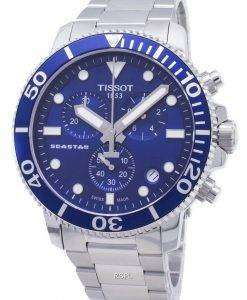 Tissot T - Sport Seastar 1000 T120.417.11.041.00 T1204171104100 크로노 그래프 남성용 시계