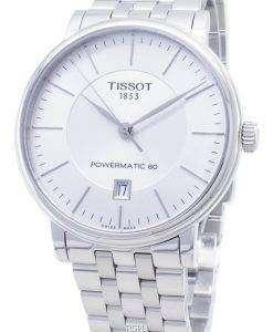 Tissot T - Classic 카슨 프리미엄 Powermatic 80 T122.407.11.031.00 T1224071103100 자동식 남성용 시계