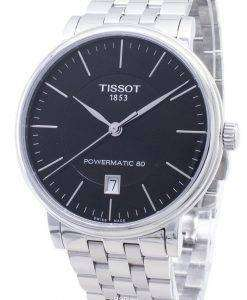 Tissot T - Classic 카슨 프리미엄 Powermatic 80 T122.407.11.051.00 T1224071105100 자동식 남성용 시계