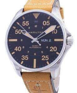 해밀턴 Khaki Pilot H64725531 자동 아날로그 남자 시계