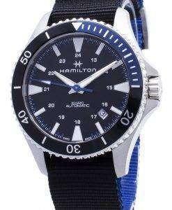 해밀턴 Khaki Scuba H82315931 오토매틱 아날로그 남자 시계