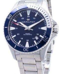해밀턴 Khaki Navy Scuba H82345141 자동 아날로그 남자 시계