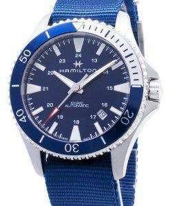 해밀턴 Khaki Navy Scuba H82345941 자동 아날로그 남자 시계