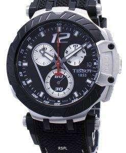 티쏘 T- 레이스 Jorge Lorenzo T115.417.27.057.00 T1154172705700 한정판 크로노 그래프 남성용 시계
