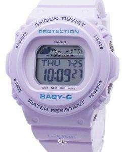 Casio Baby-G G-Lide BLX-570-6 BLX570-6 조수 그래프 충격 방지 200M 여성용 시계