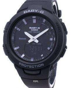 Casio Baby-G G-SQUAD BSA-B100-1A 스텝 트래커 블루투스 여성용 시계