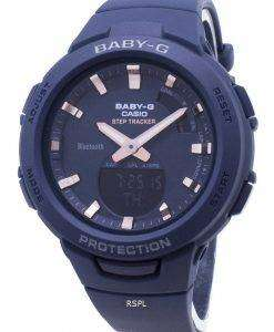 Casio Baby-G G-SQUAD BSA-B100-2A 스텝 트래커 블루투스 여성용 시계