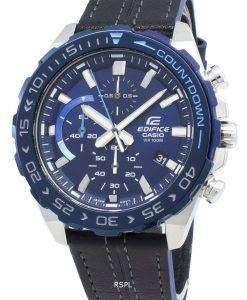 카시오 Edifice EFR-566BL-2AV EFR566BL-2AV 크로노 그래프 쿼츠 남성용 시계