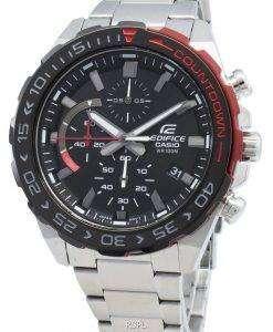 카시오 Edifice EFR-566DB-1AV EFR566DB-1AV 크로노 그래프 쿼츠 남성용 시계