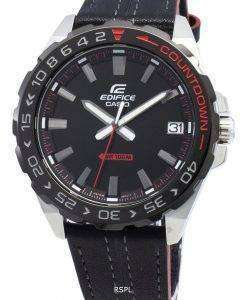 카시오 Edifice EFV-120BL-1AV EFV120BL-1AV 쿼츠 남성용 시계