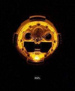 카시오 G-Shock GA-100RS-4A GA100RS-4A 크로노 그래프 쿼츠 200M 남성용 시계