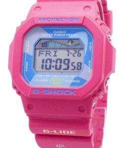 카시오 G-Shock G-Lide GLX-5600VH-4 GLX5600VH-4 크로노 문 데이터 200M 남성용 시계