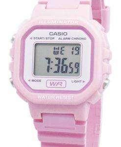 카시오 청소년 LA-20WH-4A1 LA20WH-4A1 디지털 쿼츠 여성용 시계