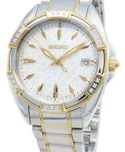 Seiko Classic SKK880P SKK880P1 SKK880 다이아몬드 악센트 쿼츠 여성용 시계