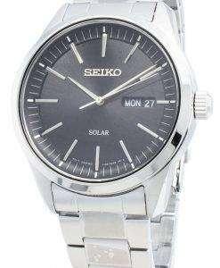 Seiko 개념 SNE527P SNE527P1 SNE527 아날로그 솔라 남성용 시계
