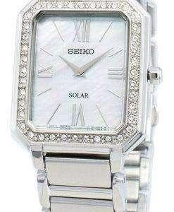 Seiko Concept SUP427P SUP427P1 SUP427 다이아몬드 악센트 솔라 여성용 시계