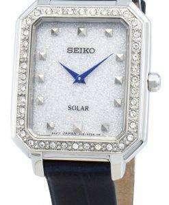 Seiko Concept SUP429P SUP429P1 SUP429 다이아몬드 악센트 솔라 여성용 시계
